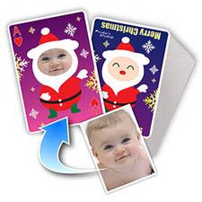 圣诞节主题 个性扑克牌