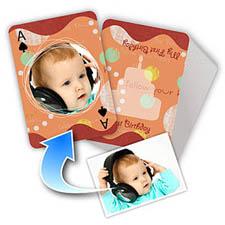 儿童生日礼物主题  个性扑克牌