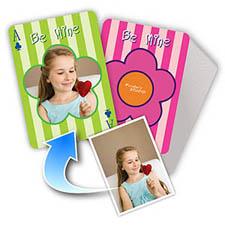 花朵主题 个性扑克牌