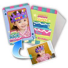 生日蛋糕主题 个性扑克牌
