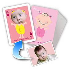 新生宝宝主题 个性扑克牌