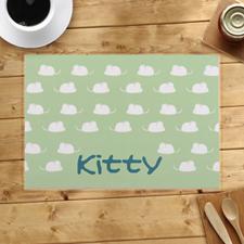 定制老鼠图案设计餐垫