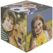 个性化木制照片立方体,可定制5面