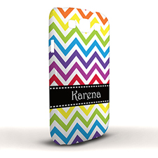 Design Your Own Colorful Chevron Samsung Phone Case Cover