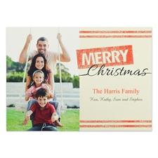 定制圣诞节邀请卡,闪光卡