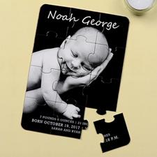 宝宝满月 5×7英寸小号照片拼图