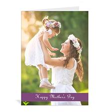 母亲节贺卡 个性贺卡(紫色)