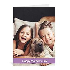 母亲节贺卡 个性贺卡(经典紫色)