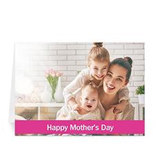 母亲节贺卡 个性贺卡(粉色)