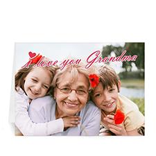 奶奶\外婆我爱你 个性贺卡