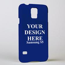 手机壳DIY 亮光表面个性定制三星Galaxy S5手机壳
