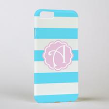 Ocean Stripe Personalized Phone Case, iPhone 6