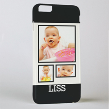 Black Frame Personalized Photo iPhone 6 + Case