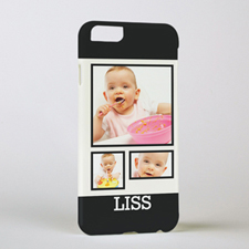 Black Frame Personalized Photo iPhone 6 Case