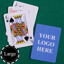 经典样式 大号个性扑克牌  双面定制