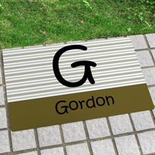 Family Personalized Doormat
