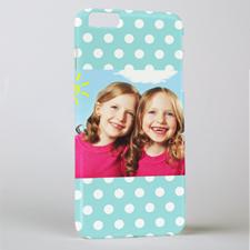 Ocean Polka Personalized iPhone 6+ Phone Case