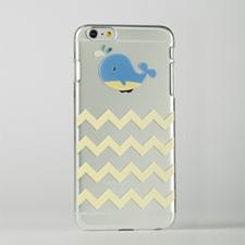 定制带鲸鱼设计 iPhone 6 Plus手机壳