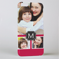 Monogrammed Personalized Photo iPhone 6+ Case