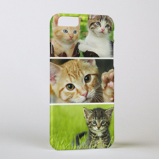 Three Collage Personalized Photo iPhone 6 Case
