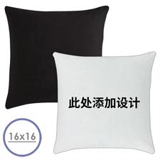 正面定制抱枕,背面黑色16