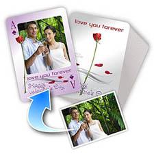 情人节主题 个性照片扑克牌