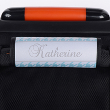 定制淡绿色行李箱手把套