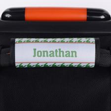 定制绿色行李箱手把套