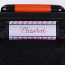 定制粉色行李箱手把套