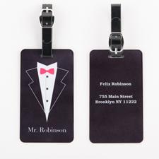 定制个性化婚礼行李牌