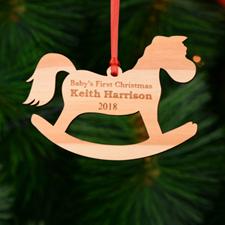 定制木制刻字圣诞节挂饰