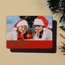 2.5x3.5英寸个性磁贴/冰箱贴 圣诞节主题(红色)(18张起订)