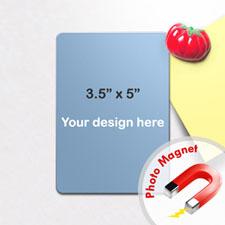 3.5x5英寸个性照片磁贴/冰箱贴(8张起订)