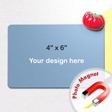 4x6英寸个性照片磁贴/冰箱贴(8张起订)