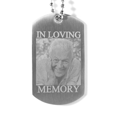 定制爱的记忆军牌项链