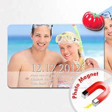 4x6英寸个性磁贴/冰箱贴 我们的纪念(8张起订)