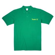 订制刺绣绿色Polo衫,XS码