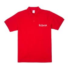 定制红色XS码刺绣Polo衫