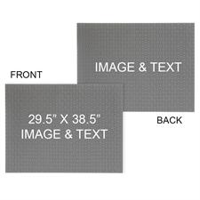 个性化双面拼图 29.53x38.58英寸, 2000 片,横向
