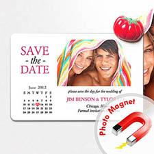4x6英寸幸福时光--日历照片磁贴(152.4x101.6mm),真爱款(白色)(8张起订)
