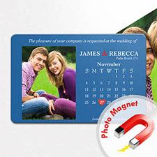 4x6英寸幸福时光--日历照片磁贴(152.4x101.6mm),幻想款(蓝色)(8张起订)