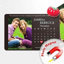 4x6英寸幸福时光--日历照片磁贴(152.4x101.6mm),幻想款(黑色)(8张起订)