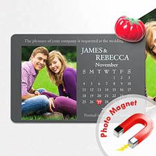 4x6英寸幸福时光--日历照片磁贴(152.4x101.6mm),幻想款(灰色)(8张起订)