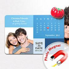 4x6英寸幸福时光--日历照片磁贴(152.4x101.6mm),经典款(蓝色)(8张起订)