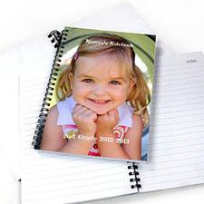 全幅照片双标题 笔记本