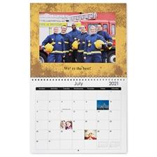 8.5×11英寸新年挂历 情人节照片挂历