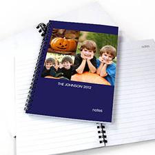 3图拼盘蓝色背景 笔记本
