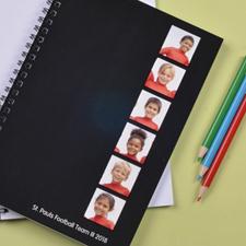 6图拼盘黑色背景 笔记本