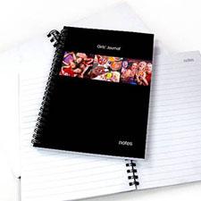 3图拼盘黑色背景 笔记本