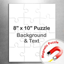 8×10英寸个性磁性拼图